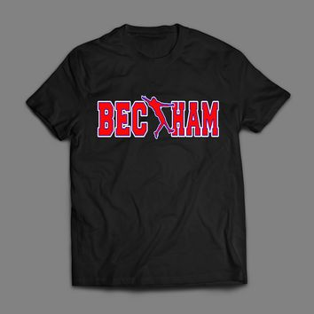 "GIANTS ODELL BECKHAM JR ""BECKHAM"" ART T-SHIRT"