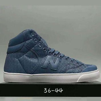 ONETOW onetow one nice new balance fashion casual all match n words breathable couple sneakers high help shoes blue i haoxie adxj