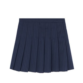 Pinstripe Pleated Skirt | MIXXMIX