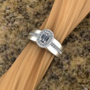 Diamond Ring – custom design by Elegant Jewelers