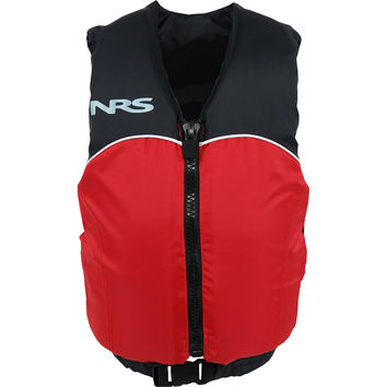 NRS Crew Type III Personal Flotation Device - 50-90lb - Youth Red/Black, One