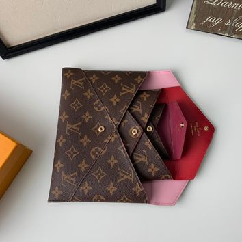 2020 New Arrivals LV Louis Vuitton 3 piece leather coffee pouches black white purse black wallet gucci tote louis tote brown burberry tote bag tote with zipper set women gucci women wallet red gucci crossboday black
