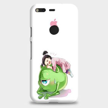 Monster Inc Cute Mike And Boo Google Pixel XL Case