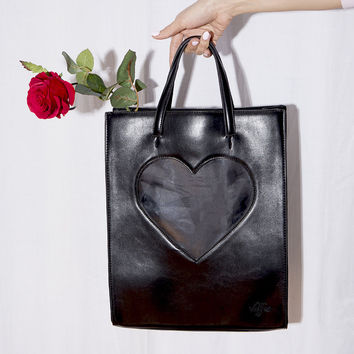 Heart Of Glass Backpack (Black)