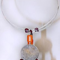 Ottoman Coin Necklace Bakelite Beads Faturan Amber Turkish Islamic Silver Coins