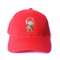 Creative King - Braing Strapback - Red - One Size