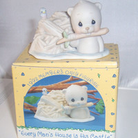 1992 Precious Moments, Every man's house is his castle, Vintage Enesco