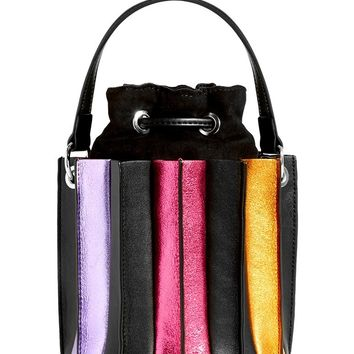 Rainbow Accordion Cross Body Bag