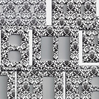 Silver/Gray/Grey & White Floral Damask Light Switch Plates and Wall Outlet Covers Elegant Home Decor Accents