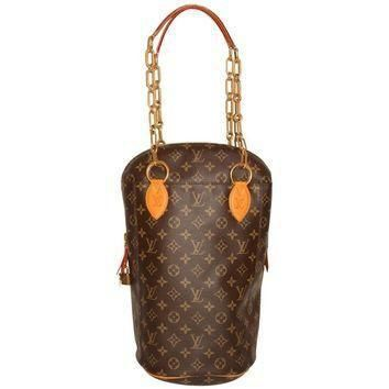 Tagre™ Louis Vuitton x Karl Lagerfeld Punching Bag PM Iconoclast Collection Pristine Co