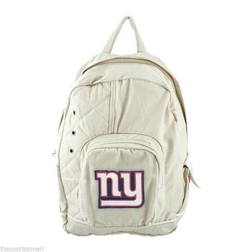 New York Giants Natural Old School Backpack