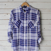 Amy Plaid Button Down