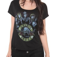 Guns N' Roses Skeleton Logo Top - 146768