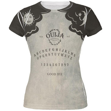 Halloween Ouija Board Costume All Over Juniors T-Shirt