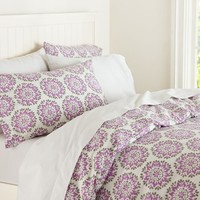 Medallion Organic Duvet Cover & Pillowcases