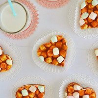 Butterscotch Peanut Butter Marshmallow Hearts 4 | Flickr - Photo Sharing!