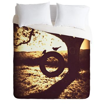 Shannon Clark Love At First Swing Duvet Cover