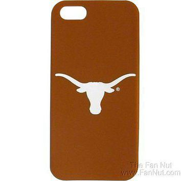 Texas Longhorns iPhone 5 Non-Slip Silicone Cell Phone Case University of