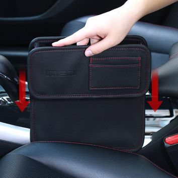 Car Seat Storage Box For  Books/Phones/Cards/Cigarette /Coins/Glove