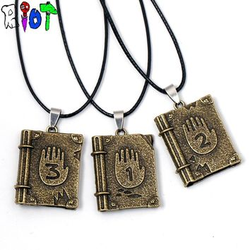 Gravity Falls Journal 3 Diepsloot Diary Link Chain Choker Necklace