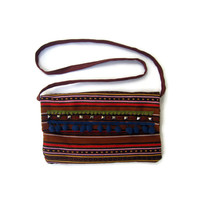 Valeria Cross Body Boho Bag in Brown