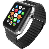 [6 Color Pack] Apple Watch Case, Fintie [Ultra-Slim] Lightweight Premium Polycarbonate Hard Protective Bumper Cover for Apple Watch (2015) - Retail Packaging, 42 mm