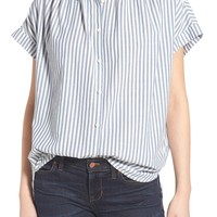 Madewell 'Central' Stripe Cotton Shirt | Nordstrom