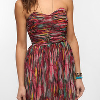 Jack By BB Dakota Ruched Bodice Strapless Dress