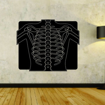 Radiology Radiologist X-Ray Business Logo Vinyl Wall Decal Sticker