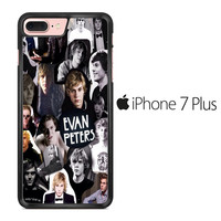 Evan Peters Collage iPhone 7 Plus Case