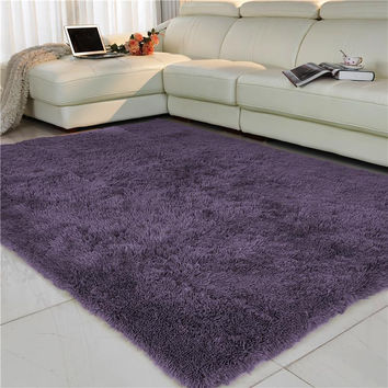 Free Shipping Anti-slip 80* 160cm 4.5cm Thick Large Floor Carpets For Living Room Modern Area Rug For Bedroom  Shaggy Rug
