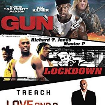 Non-Stop Action Triple Feature: (Gun, Love and a Bullet, Lockdown)