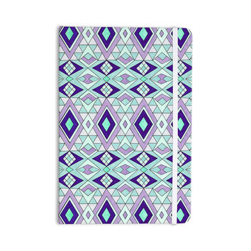"Pom Graphic Design ""Gems"" Purple Teal Everything Notebook"