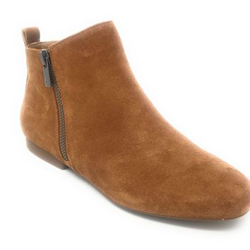 Lucky Brand Glexi Macaroon Oiled Suede Ankle Boots