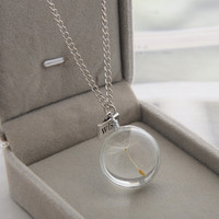 New Arrival Shiny Gift Jewelry Stylish Handcrafts Double Sided Gemstone Accessory Necklace [8026346247]