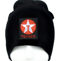 Texaco Sign Beanie Alternative Clothing Knit Cap
