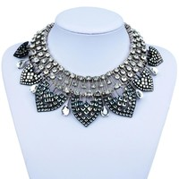 New Bohemian Statement Necklace Fashion Celebrity Style Punk Bib Necklace Women Gift Neckla