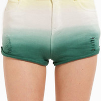 Neopolitan Ombre Terry Shorts $35