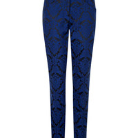 JACQUARD SUIT TROUSERS - Bright Blue | Tailoring | Ted Baker ROW