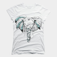 Poetic Elephant T Shirt By LouJah Design By Humans