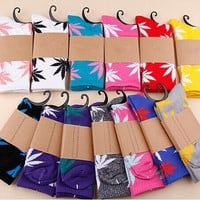 Unisex Men's and Women's HUFF Style Celebrity Style Socks (2 Pairs!)