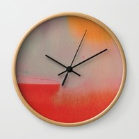 Under the Sun Wall Clock by duckyb