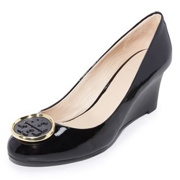 Twiggie Wedge Pumps