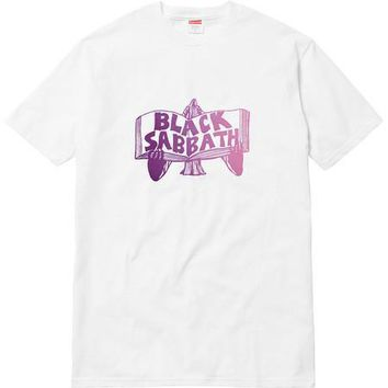 Supreme Black Sabbath Tome Tee - White