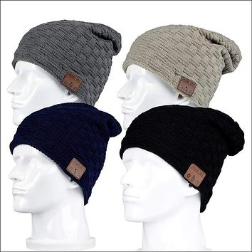 Bluetooth Equipped Beanie Hat