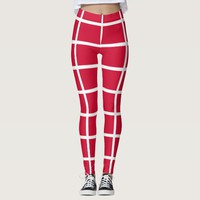 Leggings with flag of Denmark