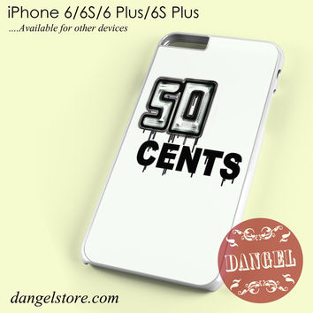 50 Cent Cool Phone case for iPhone 6/6s/6 Plus/6S plus