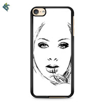 Adele Twenty Five Illustrations Sketch iPod 6 Case