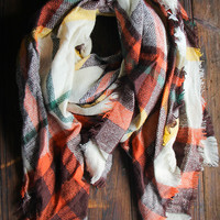 Cedar Creek Blanket Scarf