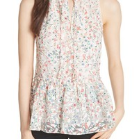 kate spade new york mini bloom burnout top | Nordstrom